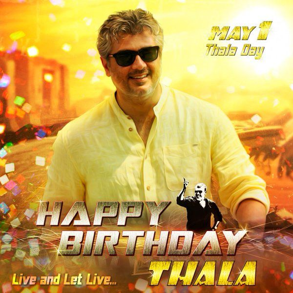 HAPPY BIRTHDAY THALA !!!