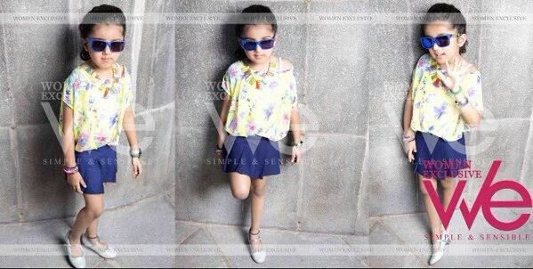 Meena &amp&#x3B; Theri Baby Nainika - Magazine Women Exclusive