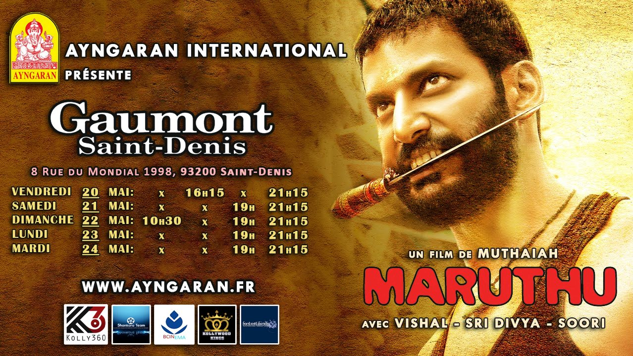 MARUTHU - FRANCE SHOWTIME