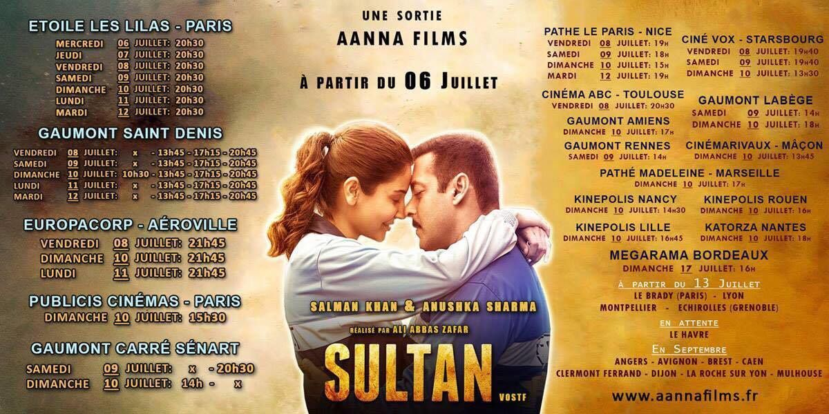 SULTAN - FRANCE SHOWTIME