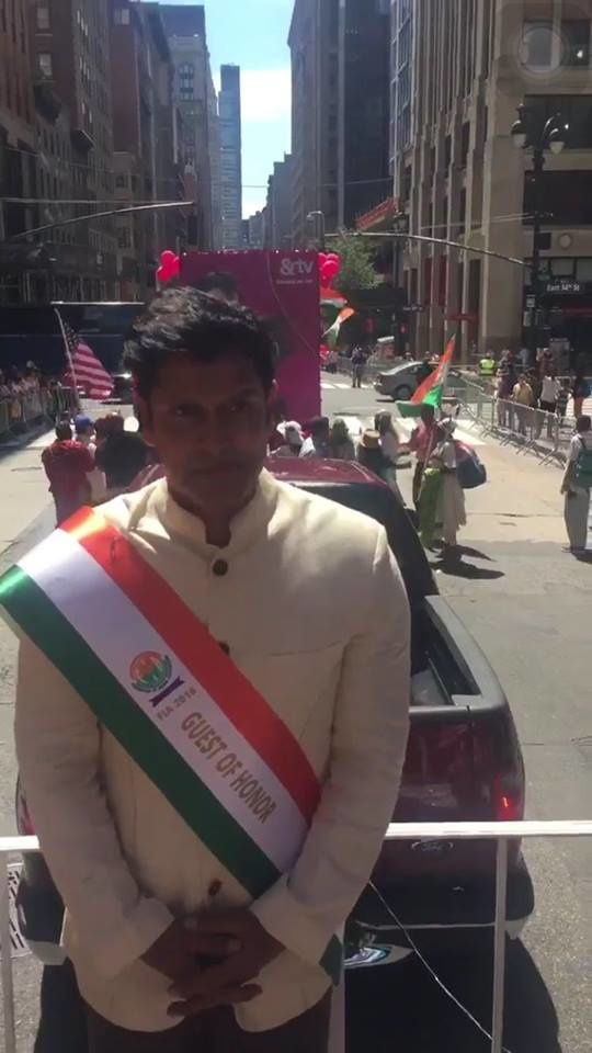 VIKRAM - INDIAN DAY PARADE in NEW YORK CITY !