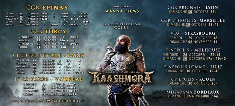 KAASHMORA &amp&#x3B; KODI - FRANCE SHOWTIME