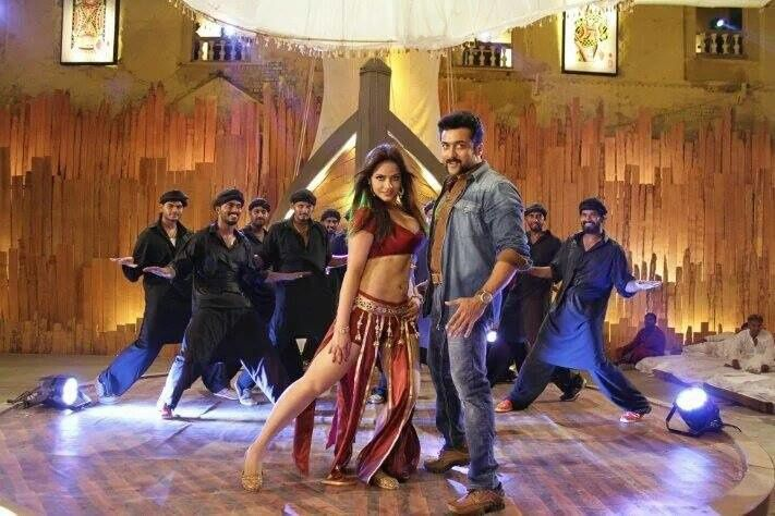 SINGAM 3 &quot&#x3B;OH SONE SONE SUPER SONIC&quot&#x3B; SONG SHOOTING PHOTOS