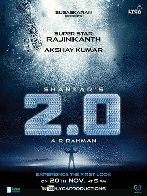 SUPER STAR RAJINI &quot&#x3B;2.0&quot&#x3B; FIRST LOOK POSTER !!!!