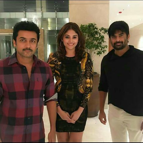 SURYA &amp&#x3B; MADDY - VIKRAM VEDHA SHOOTING SPOT PHOTO