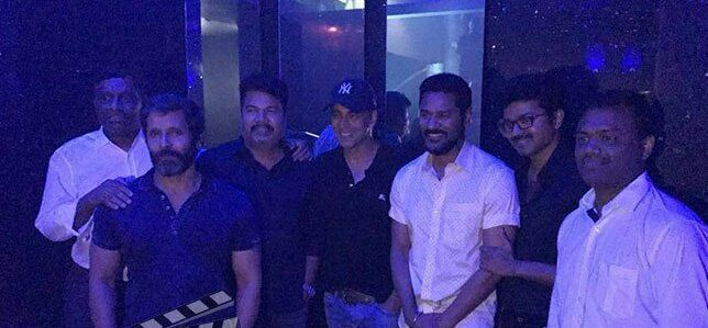 2POINT0, VIJAY61 ET SKETCH TEAM - LYCA PRODUCTION PARTY