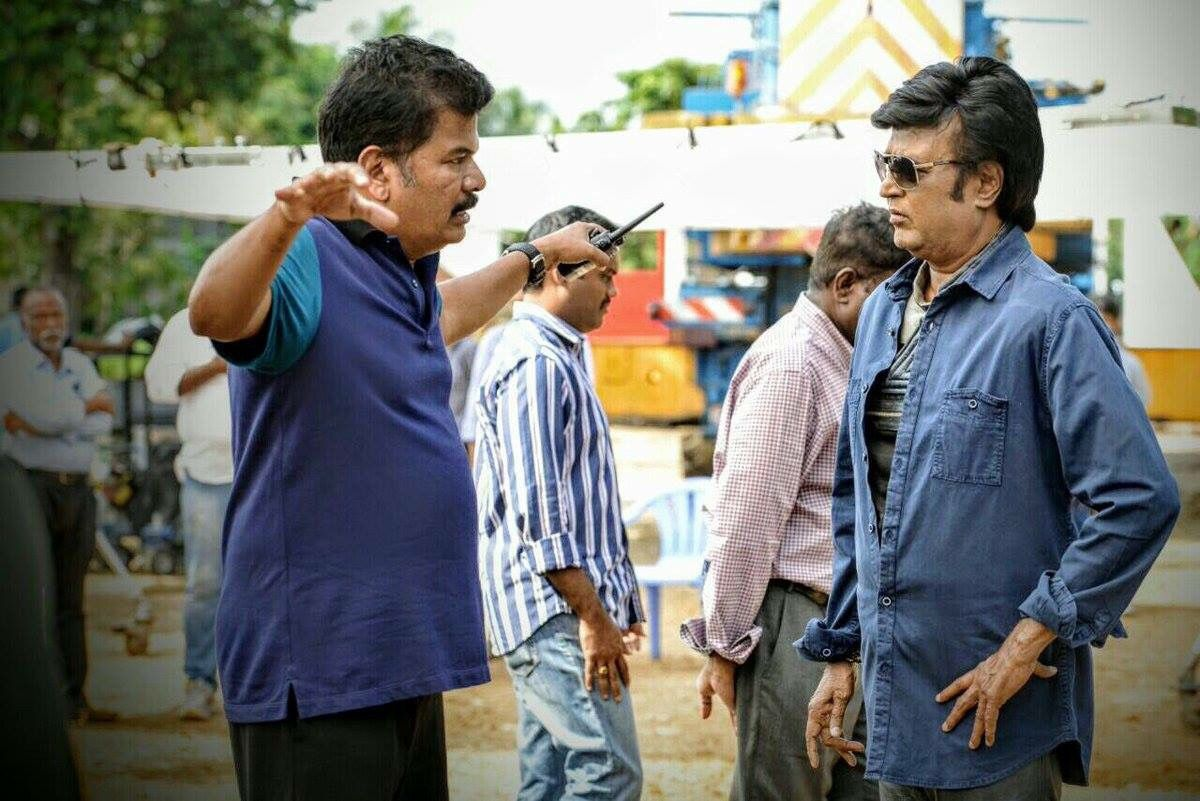 Chitti is Back ! 2.0 Shooting Spot