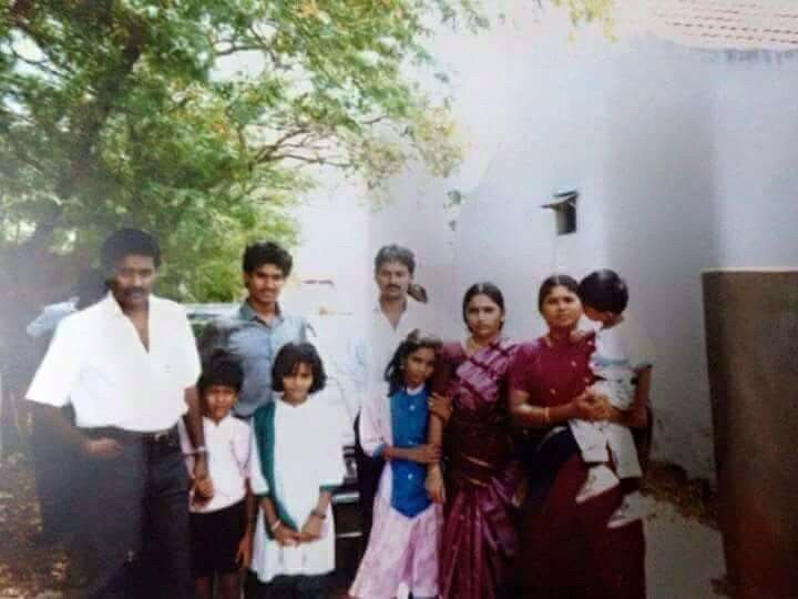 Danush Childhood Photos