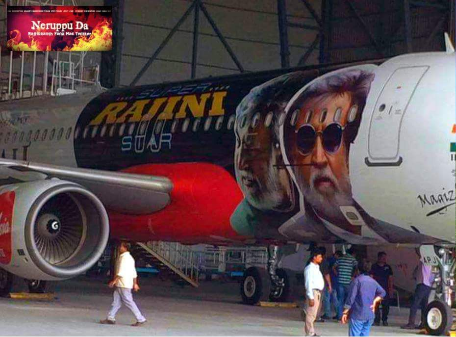 Thalaivar Rajini Flight