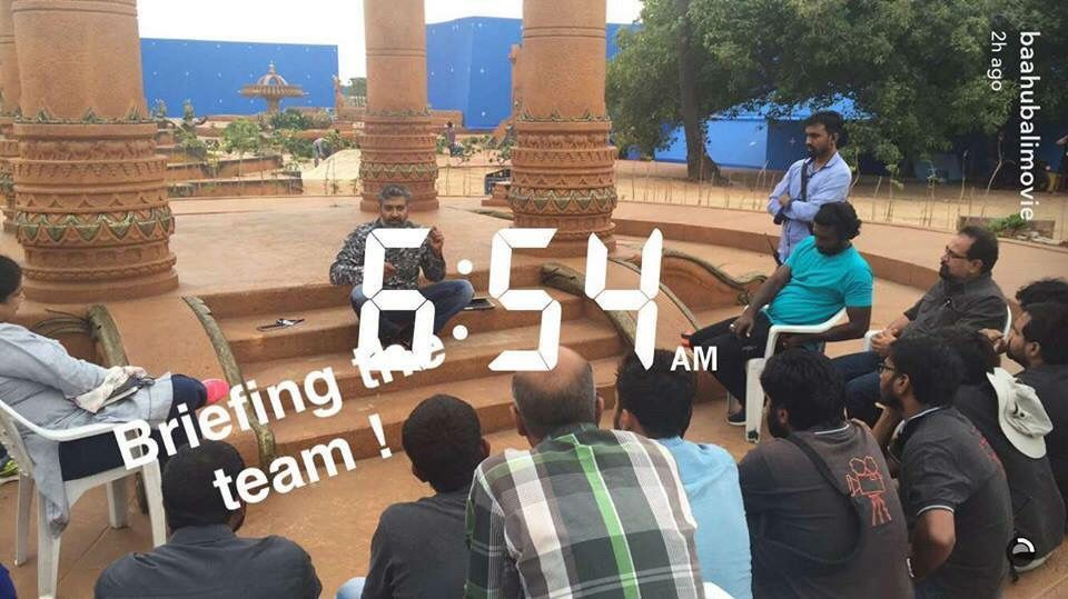 Baahubali The Conclusion - Shooting Spot