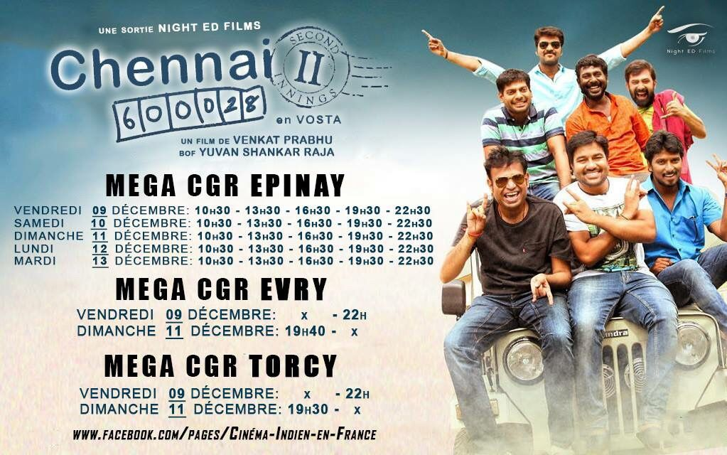 Chennai 600028-2 France Showtime