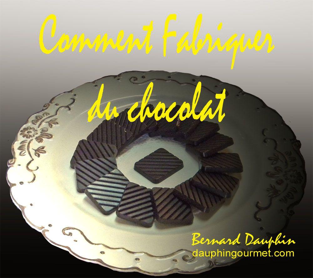 COMMENT FABRIQUER SON PROPRE CHOCOLAT