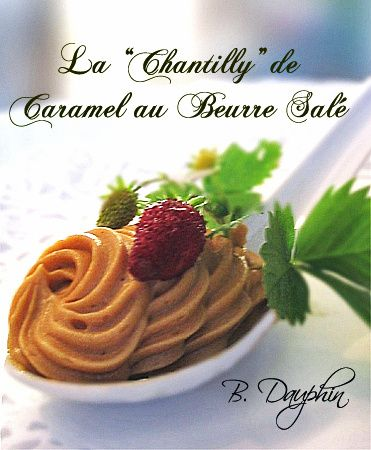 CHANTILLY DE CARAMEL AU BEURRE SALE