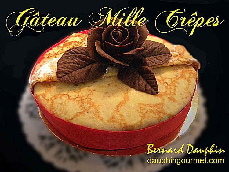 GATEAU MILLE CREPES