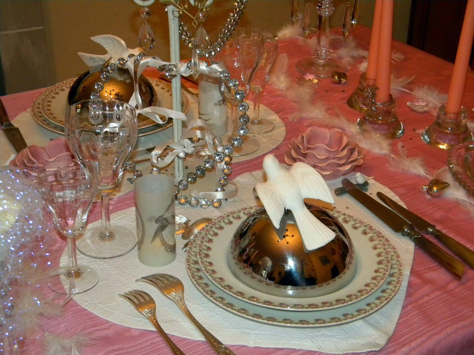 Table de saint valentin romantique le blog de bernard - Table de saint valentin ...