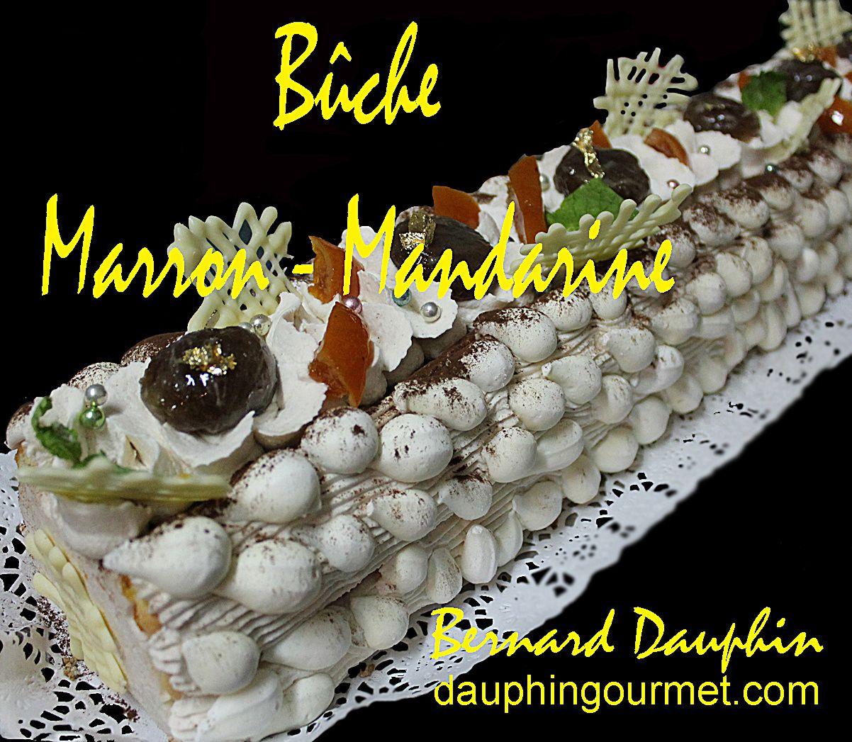 BUCHE 2016 MARRON - MANDARINE
