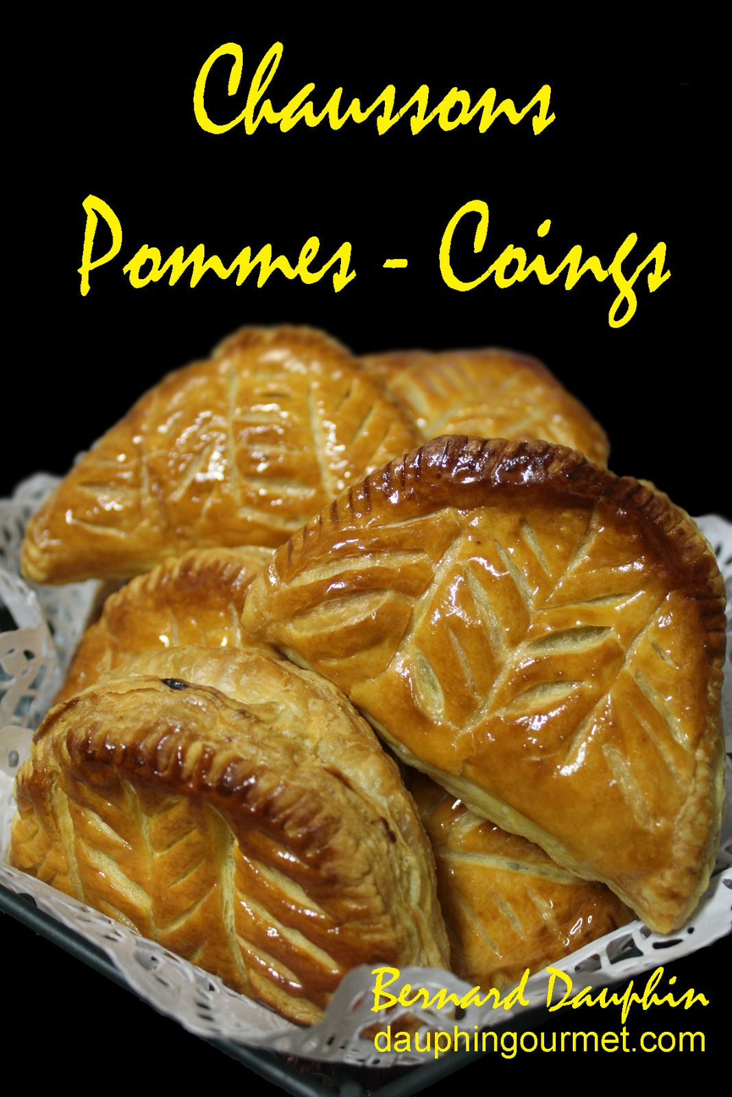 CHAUSSONS AUX POMMES - COINGS - MIEL
