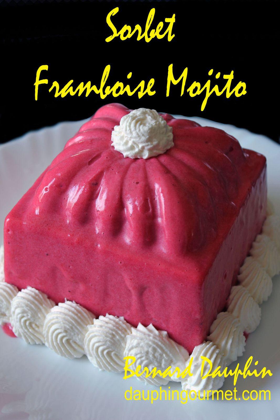 SORBET FRAMBOISE / MOJITO