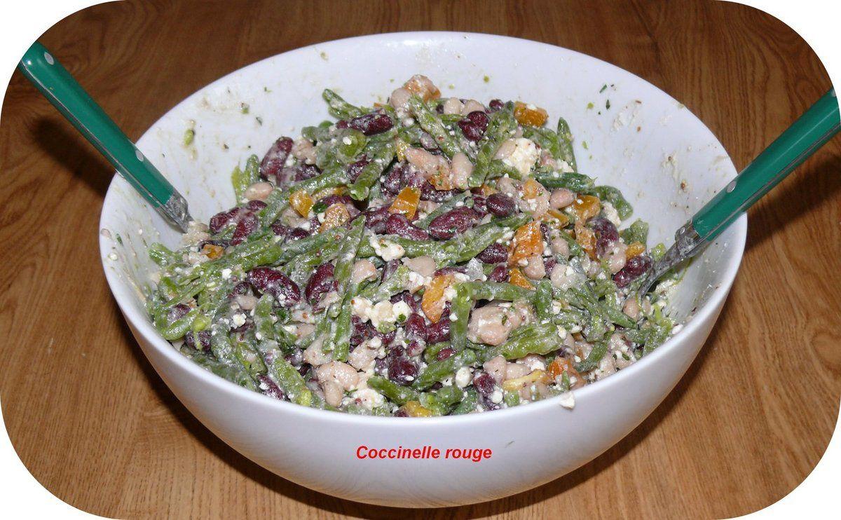 salade aux trois haricots