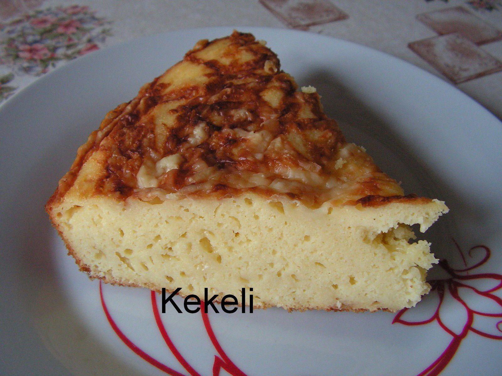 Gâteau de semoule au comté