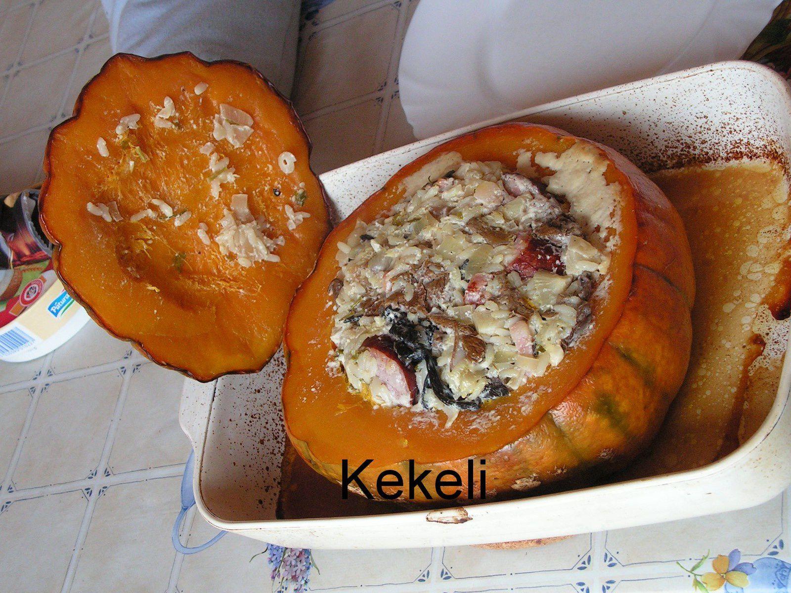 Potiron marmite de Kekeli