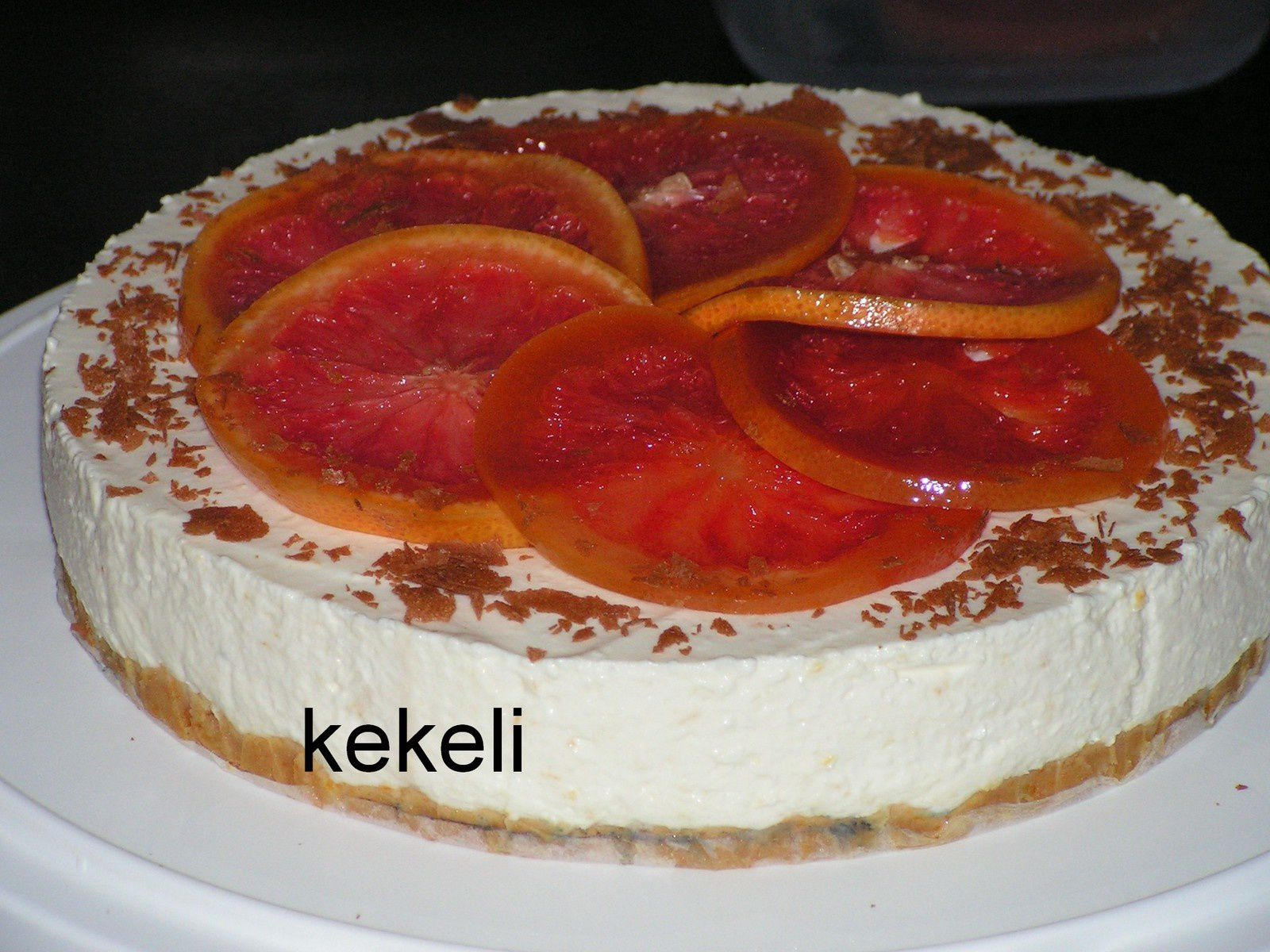 Cheesecake aux agrumes
