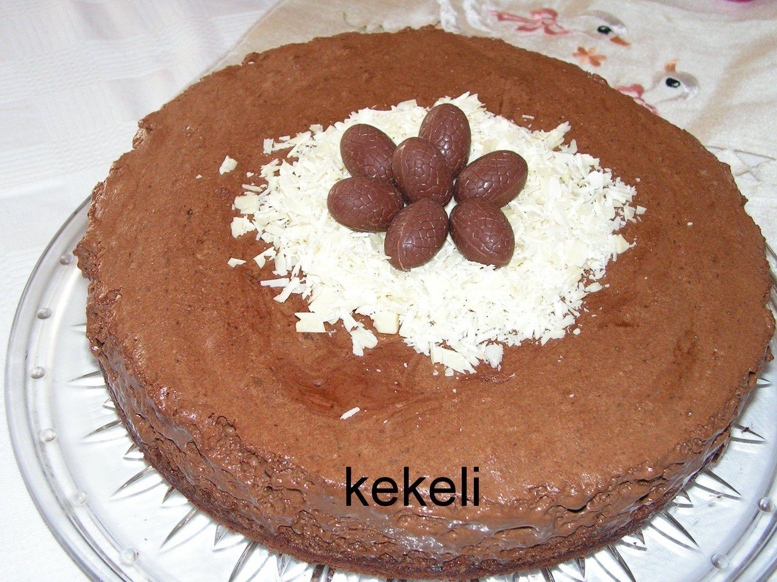 g teau mousse au chocolat pour p ques le blog de kekeli. Black Bedroom Furniture Sets. Home Design Ideas