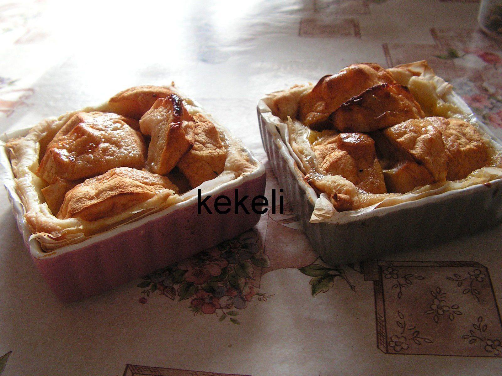 Tartelette à la pomme