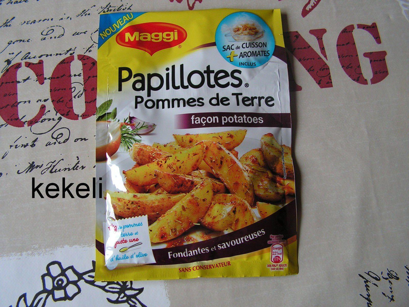 PAPILLOTES Pommes de Terre façon Potatoes