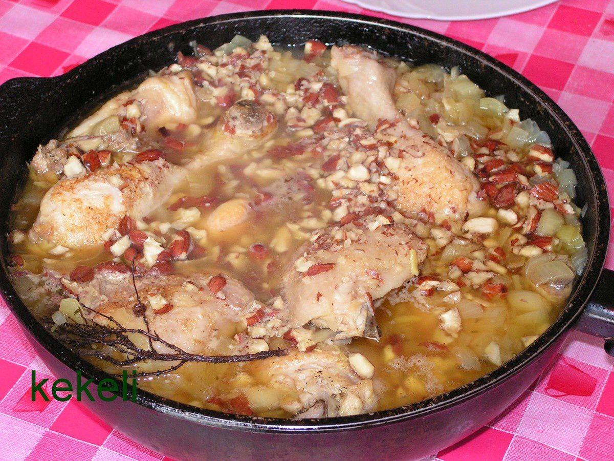 Mon poulet aux amandes croquantes