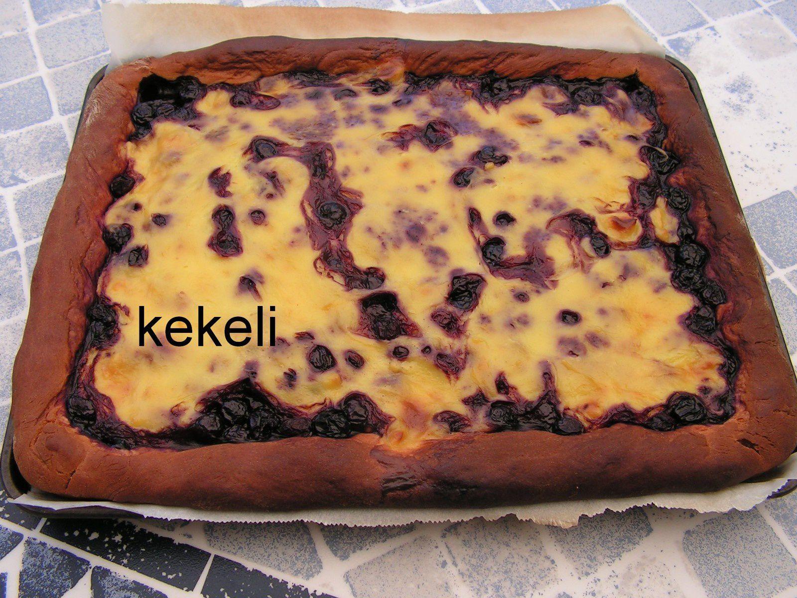 Gâteau flan aux cerises