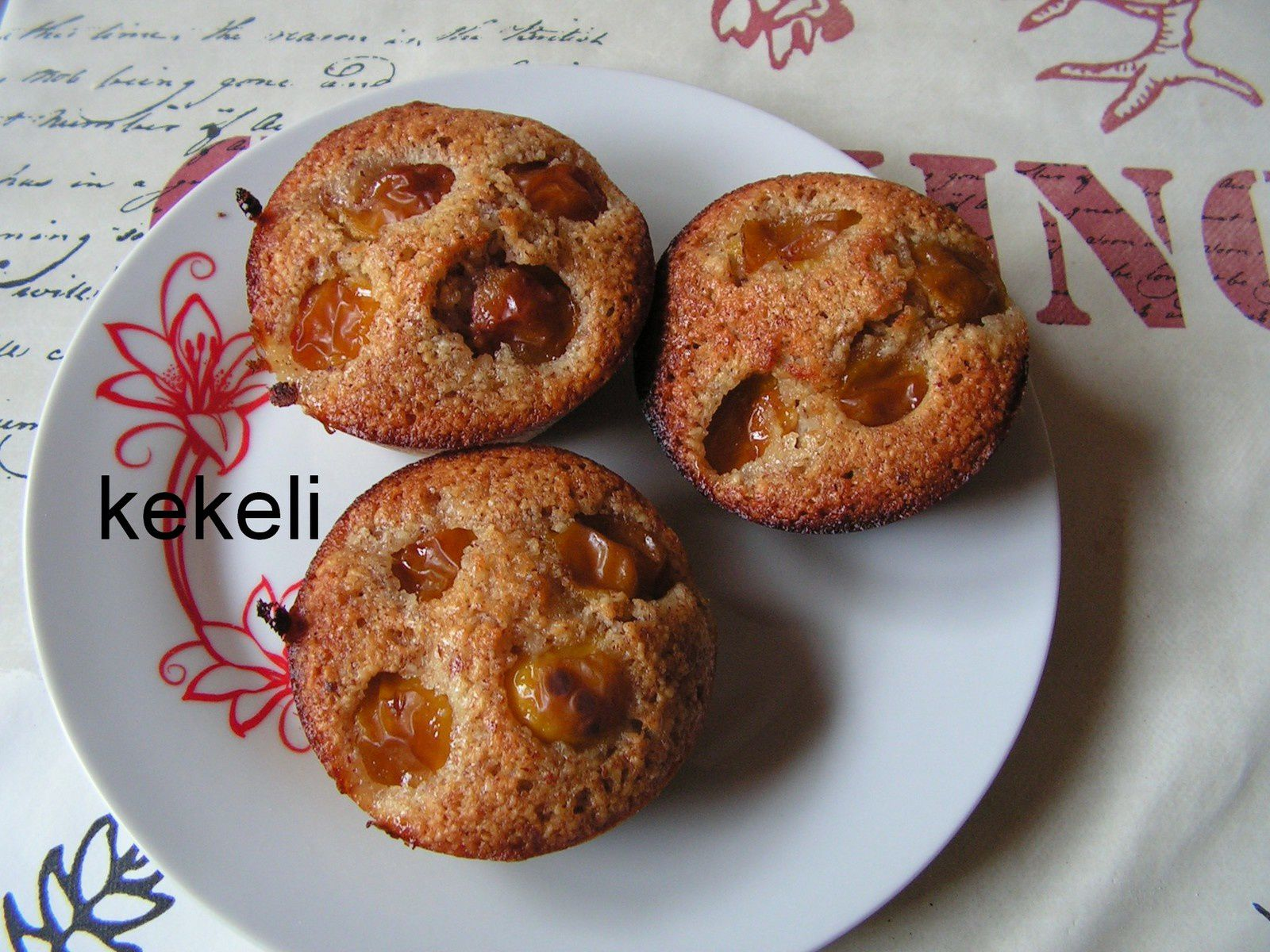 Financiers/ muffins aux mirabelles