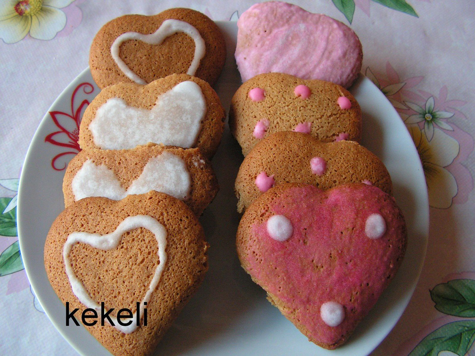 Cœurs en pain d'épices