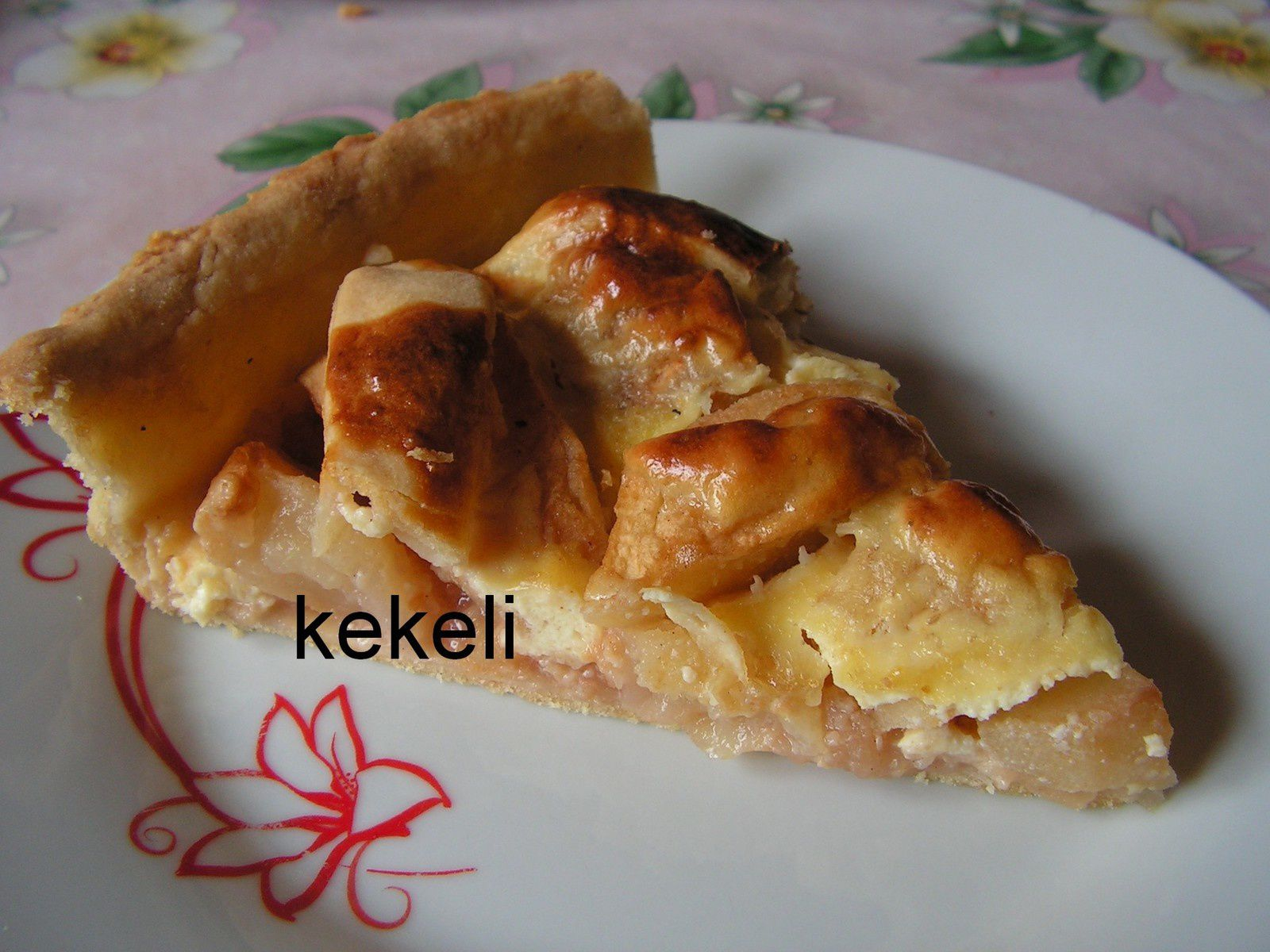 tarte aux pommes avec compote le blog de kekeli. Black Bedroom Furniture Sets. Home Design Ideas