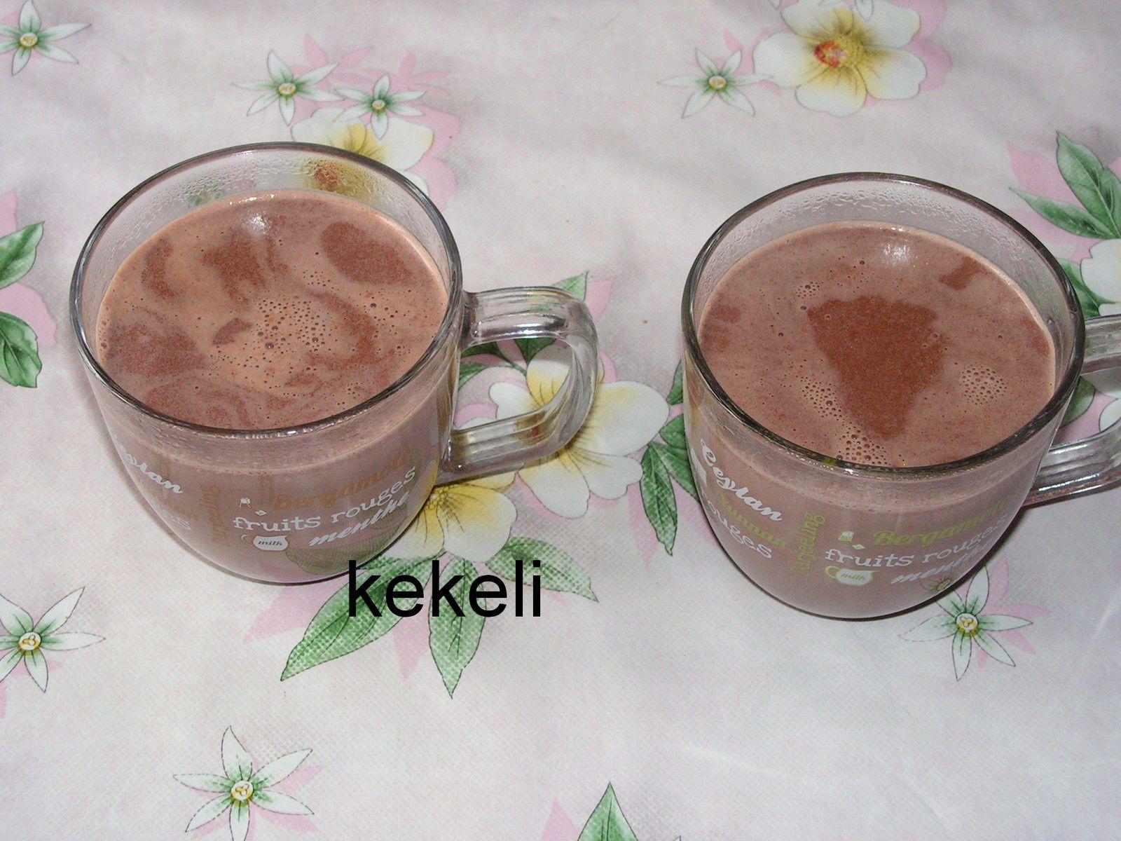 Cacao chaud au caramel