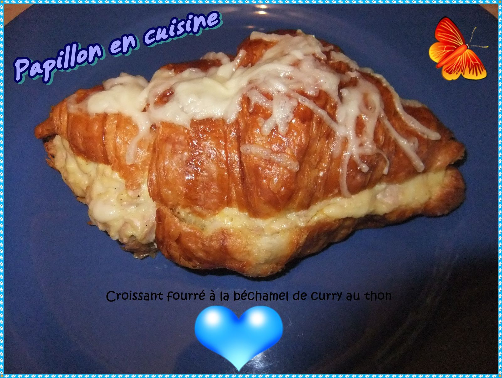 recette croissant fourr la b chamel de curry au thon. Black Bedroom Furniture Sets. Home Design Ideas