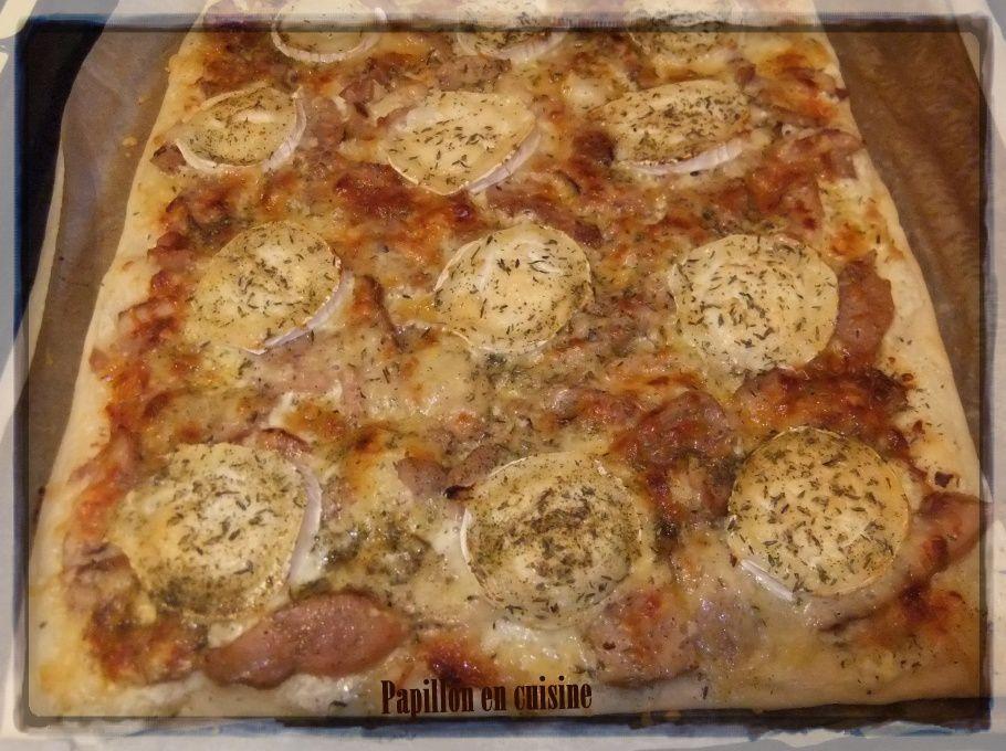 Recette: Pizza  La Miel