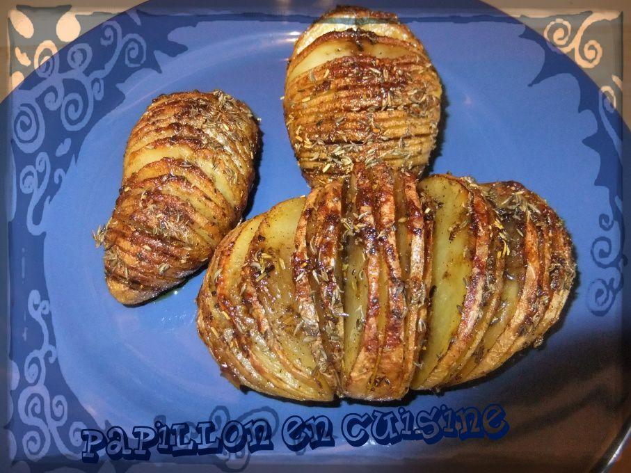 Recette : Mes pommes de terre en accordéon au four