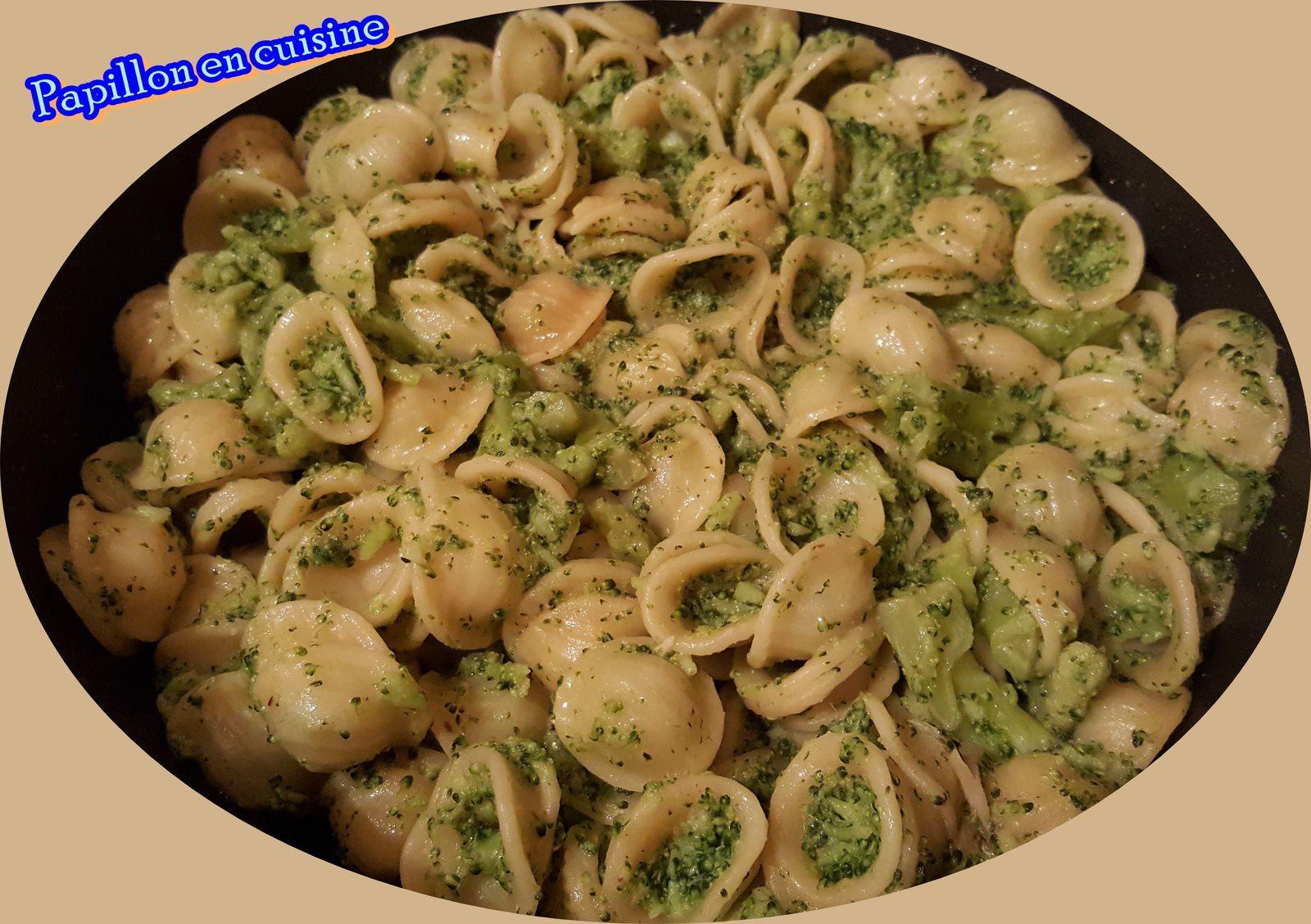 recette p 226 tes aux brocolis papillon en cuisine