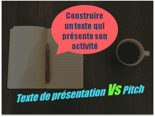 Construire un texte qui présente son activité ? Recommandations de SAW