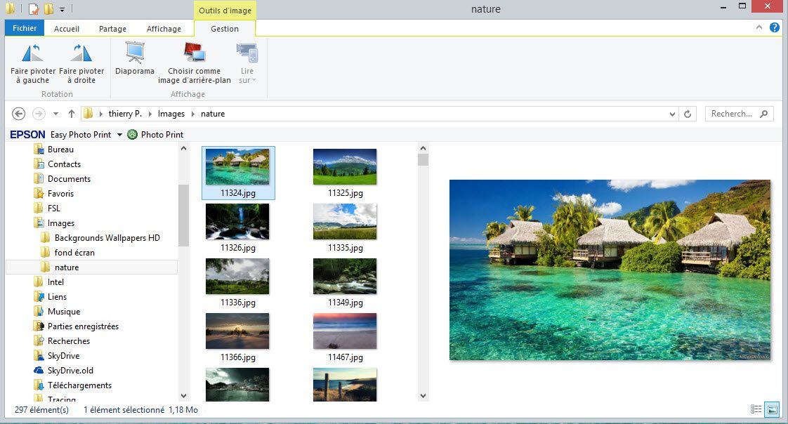 Nouveau explorateur windows sous windows 8.1