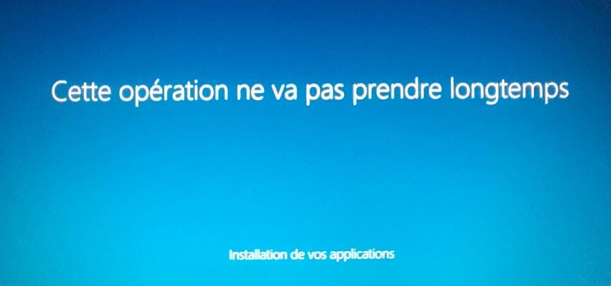 Windows 10 - procédure de mise à niveau