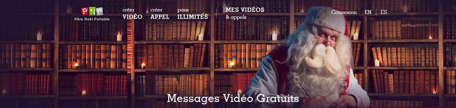 Messages vidéos personnalisés du Père Noël !