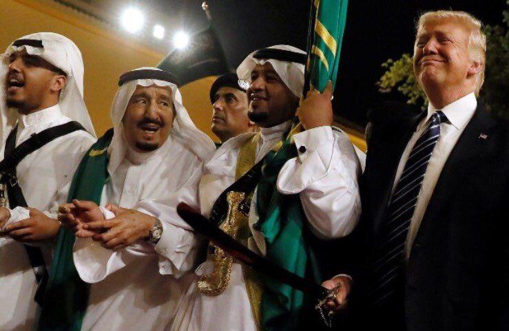 A Riyad, Trump et la danse du sabre: Objectif déstabiliser l'Iran