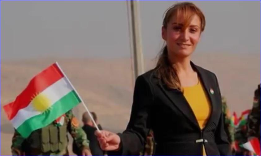 """Lara Yousif,"""" maire"""" provisoire d'Alqosh nommée par Barzani"""