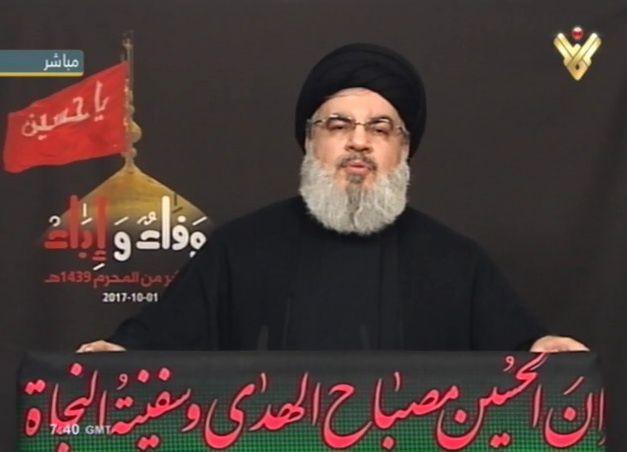 Hassan Nasrallah appelle les juifs à quitter la Palestine avant qu'il ne soit trop tard