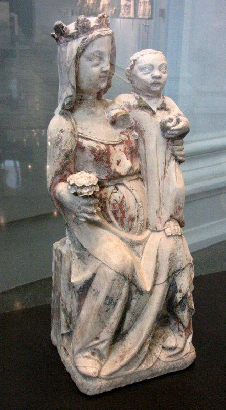 La Vierge assise et l'Enfant, musée de Picardie
