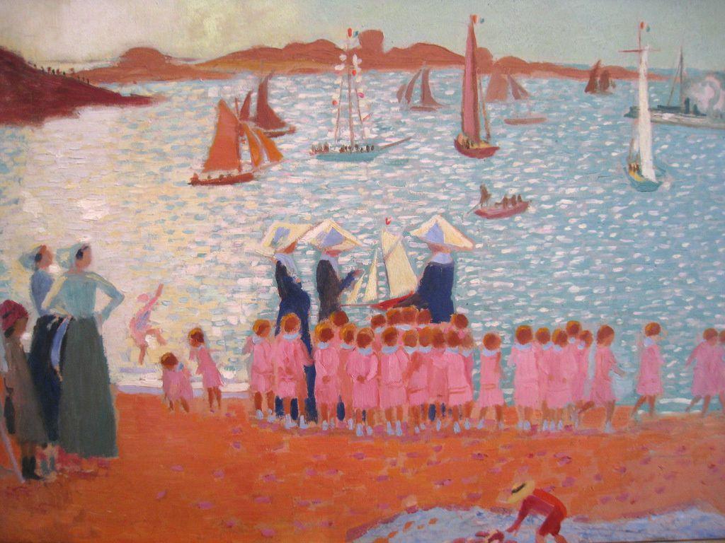 Maurice Denis, la colonie de vacances (musée départemental de l'Oise)