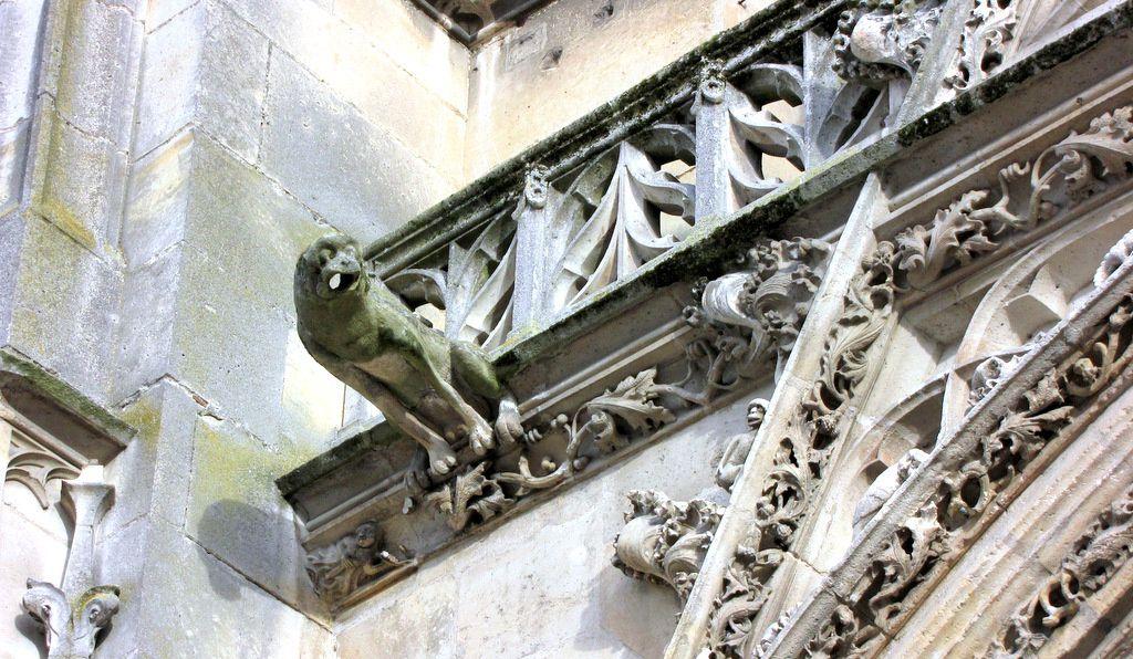 Gargouilles de la cathédrale St Maclou (1/2), Pontoise