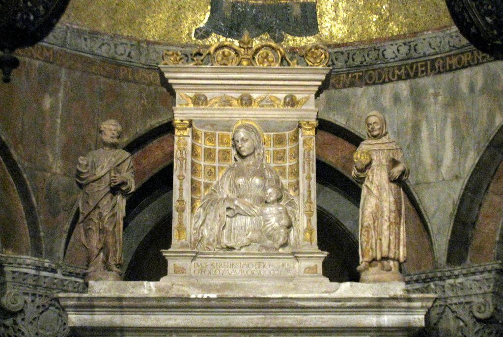 Chapelle St Clément, basilique St Marc à Venise